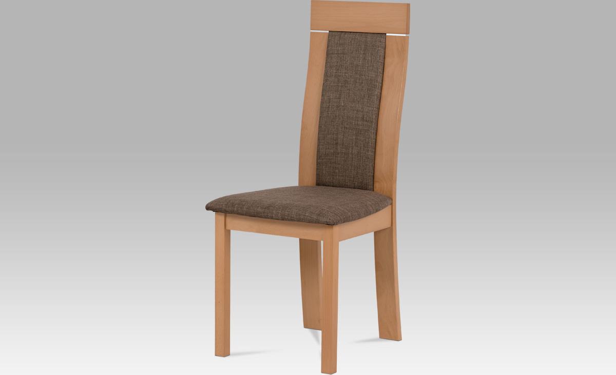 Jídelní židle dřevěná 47x42x103x45cm Barva: buk