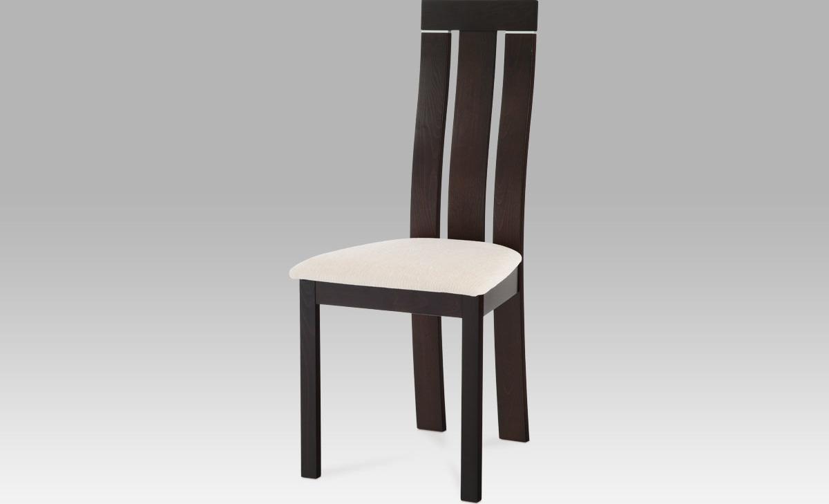 Jídelní židle dřevěná 45x43x101x47cm Barva: wenge