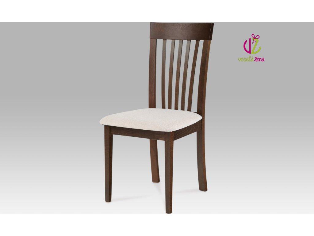 Jídelní židle dřevěná 48x43x95x47cm Barva: ořech