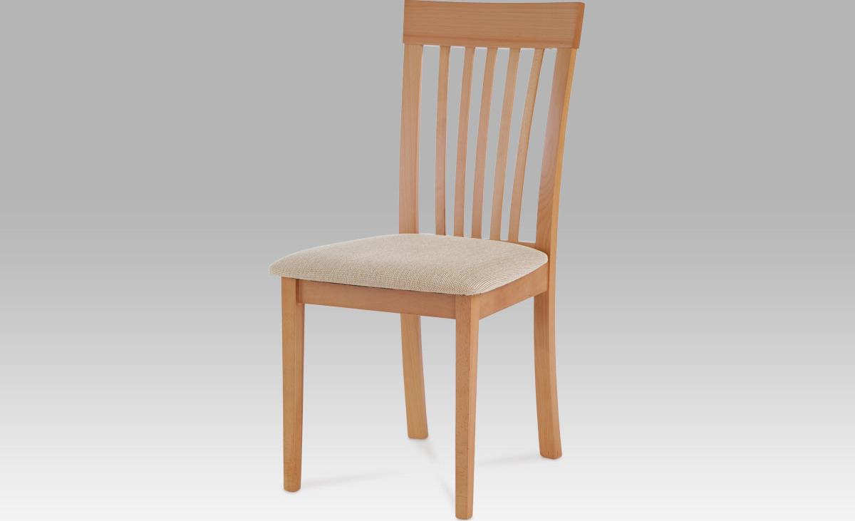 Jídelní židle dřevěná 48x43x95x47cm Barva: buk