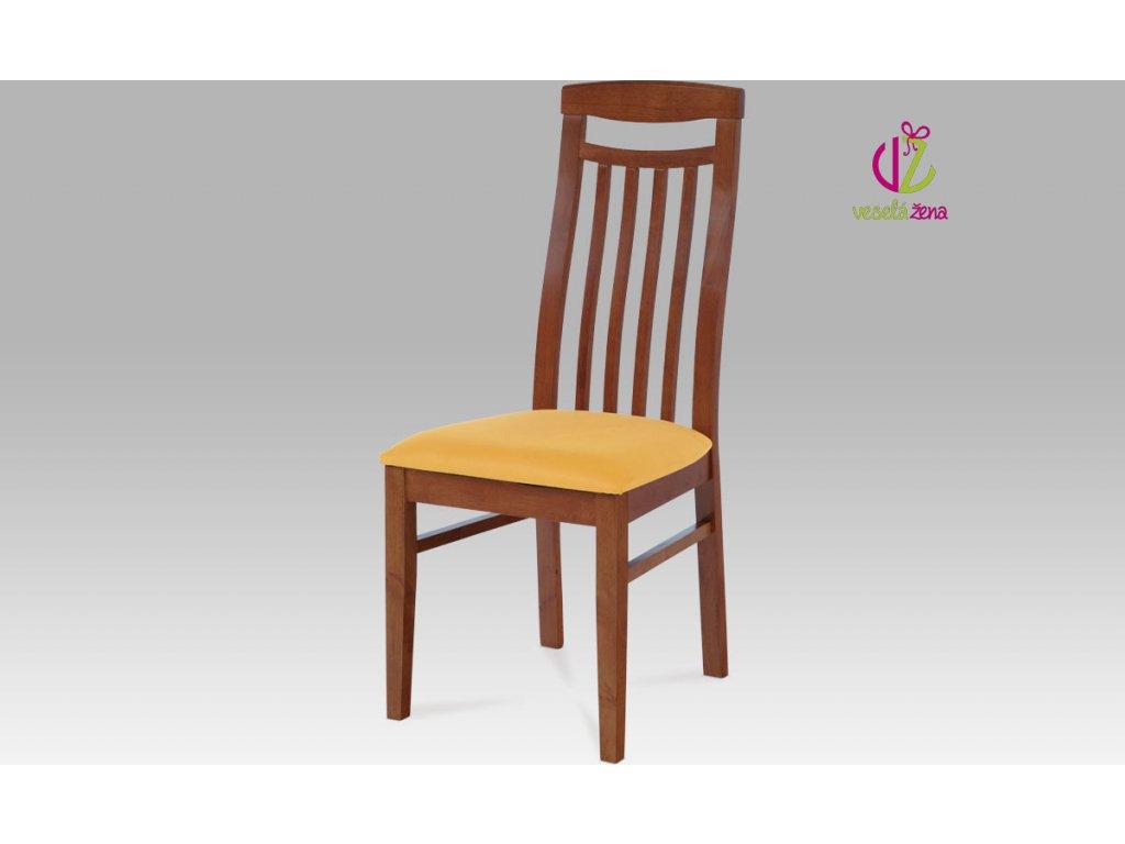 Artium Jídelní židle bez sedáku dřevěná 46x42x101x48cm Barva: třešeň