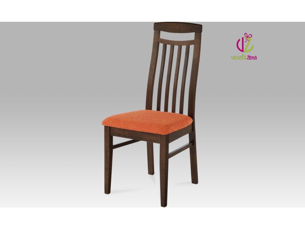 Artium Jídelní židle bez sedáku dřevěná 46x42x101x48cm Barva: ořech