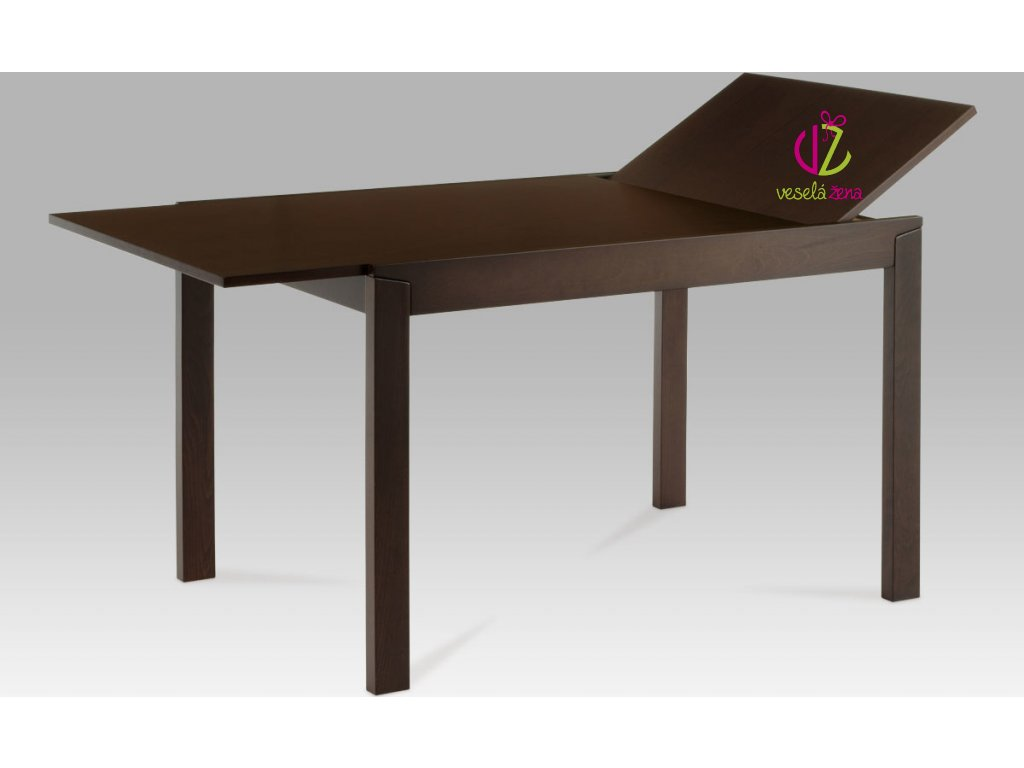 Jídelní stůl rozkládací 164x80cm Barva: ořech
