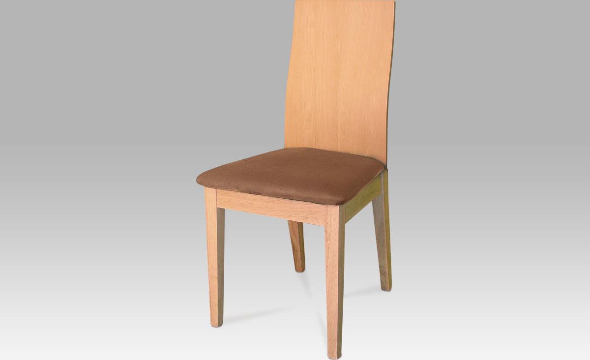 Jídelní židle buk 45x42x92x48cm