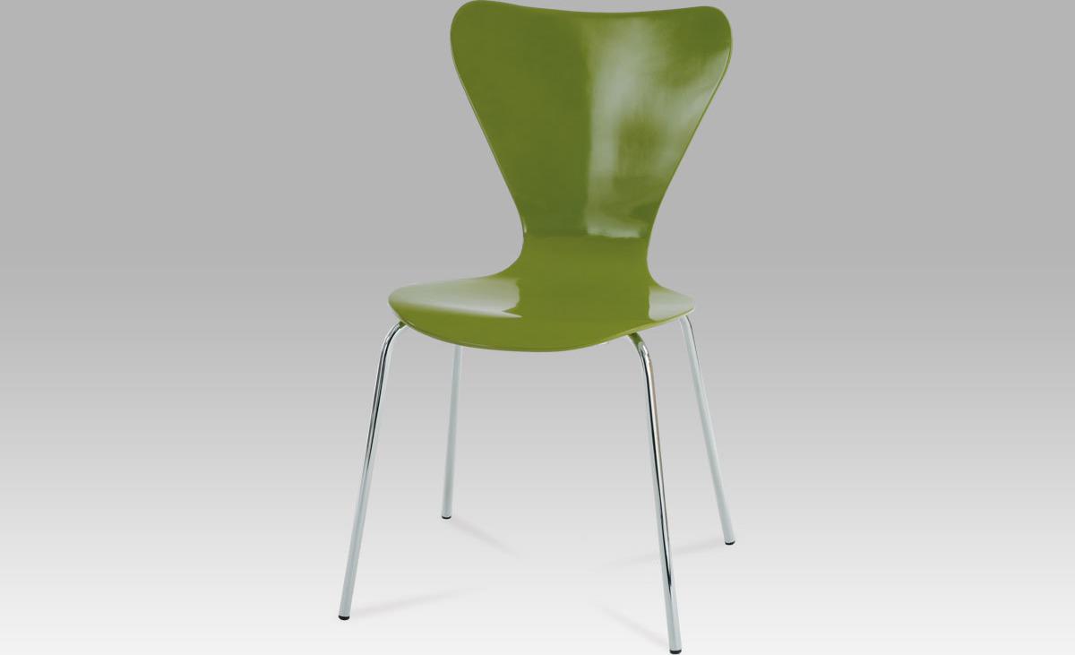 Artium Jídelní židle zelená 50x50x82x44cm