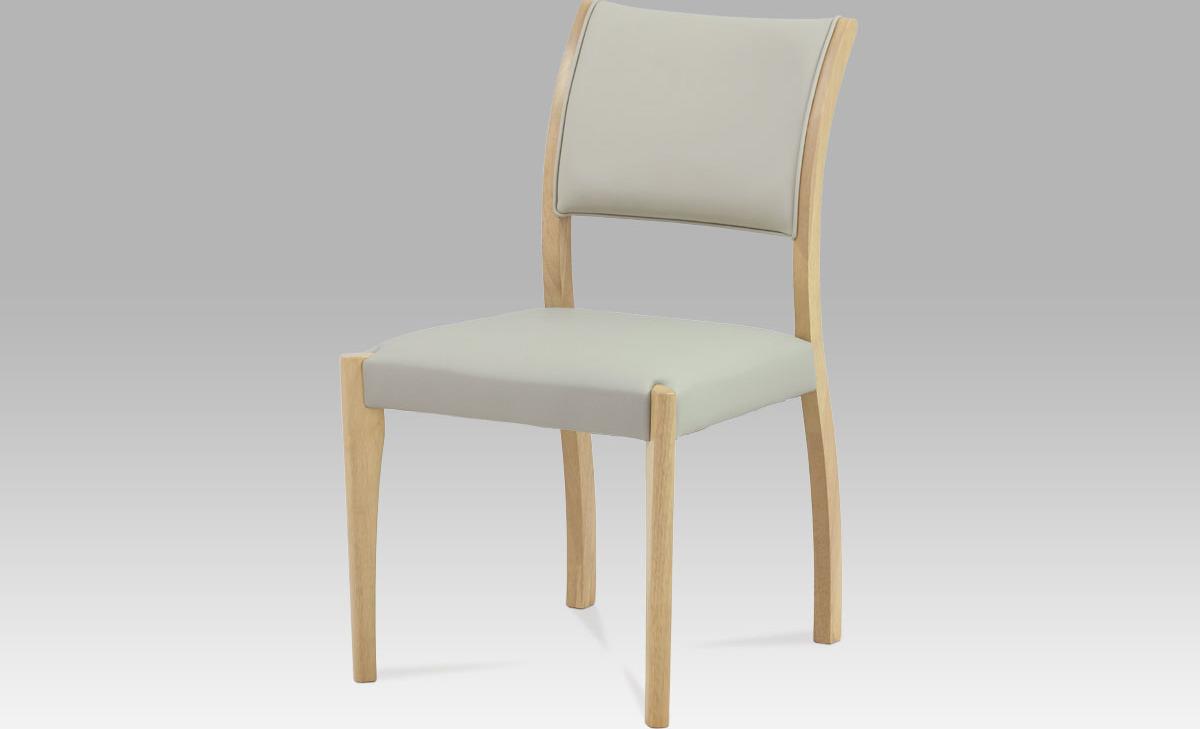 Artium Jídelní židle koženková 51x43x84x44cm
