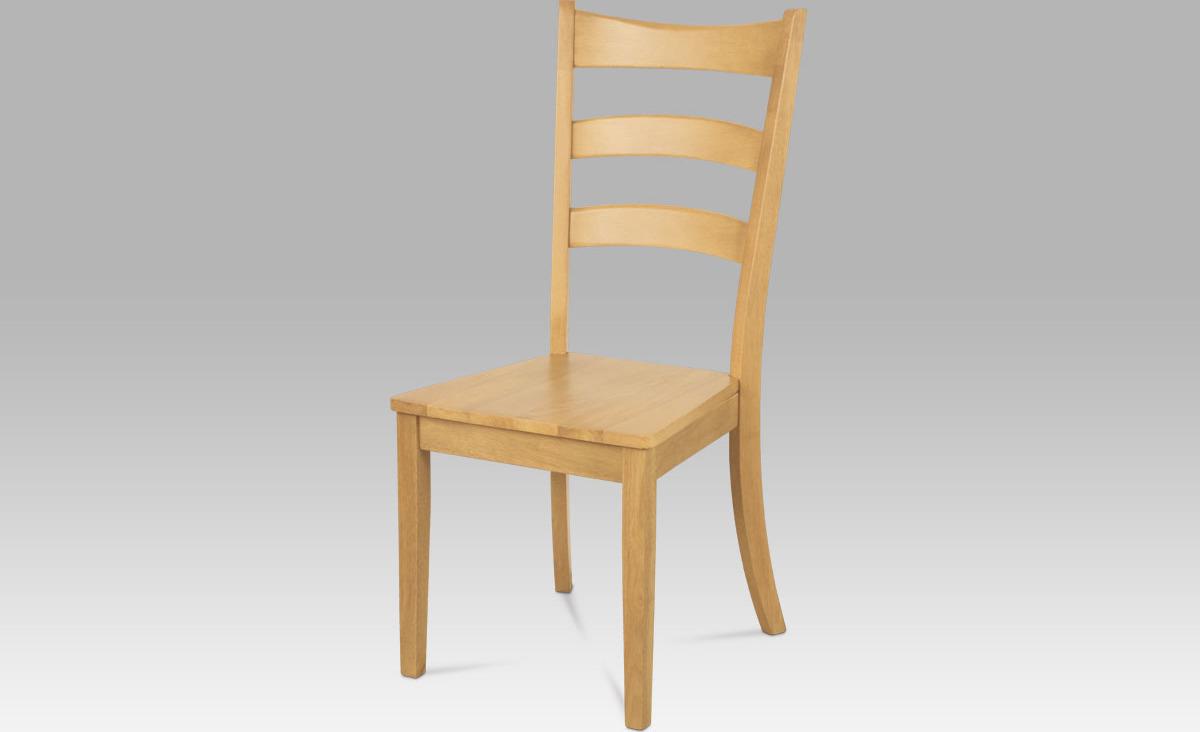 Jídelní židle dřevěná 45x43x103x46cm Barva: dub