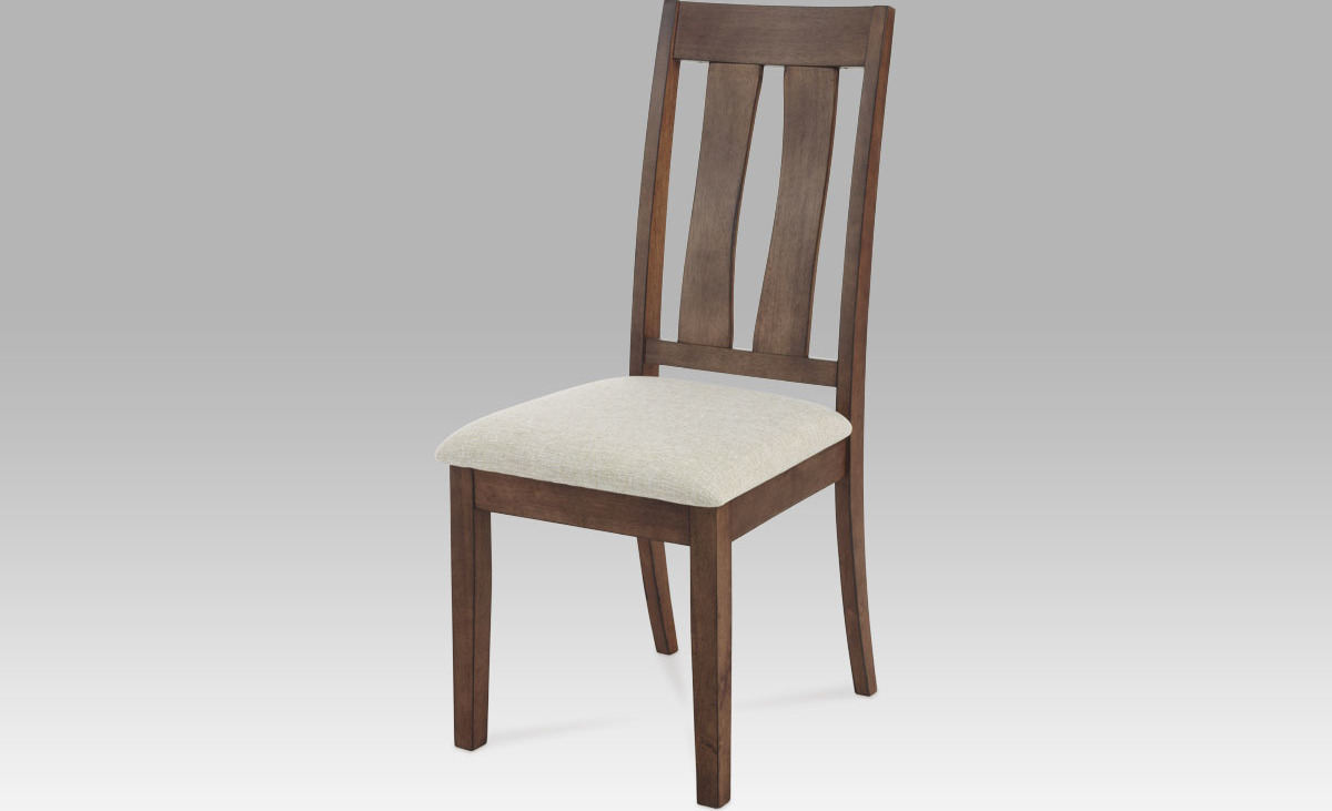 Artium Jídelní židle ořech 48x49x105x42cm