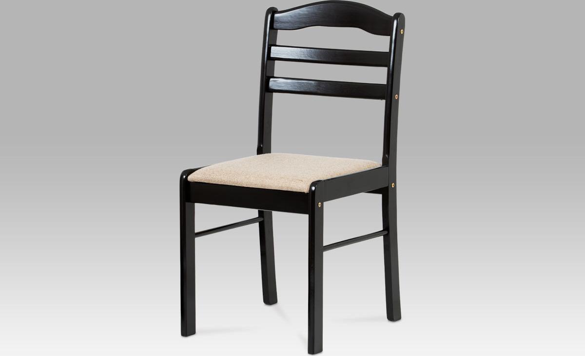 Jídelní židle černá 43x41x86x54cm