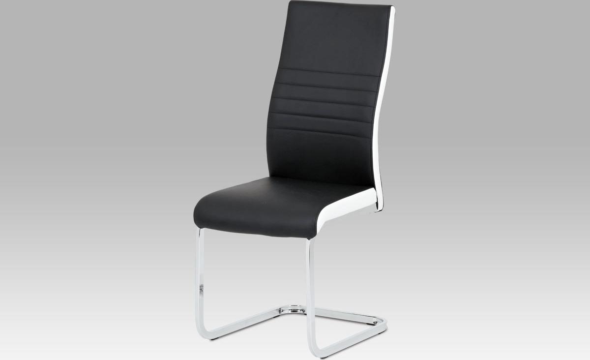 Jídelní židle koženková 42x43x100x47cm