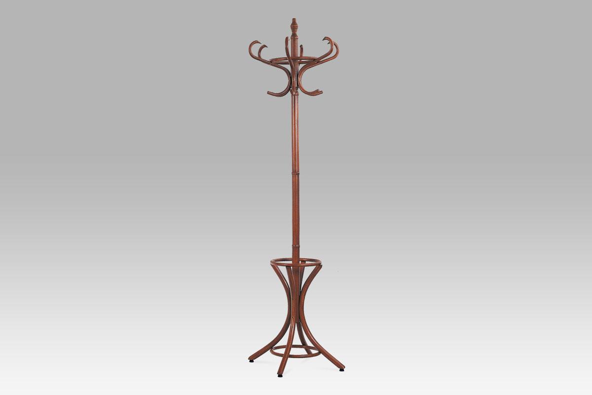 Stojanový věšák dřevěný 186 cm Barva: tmavě hnědá