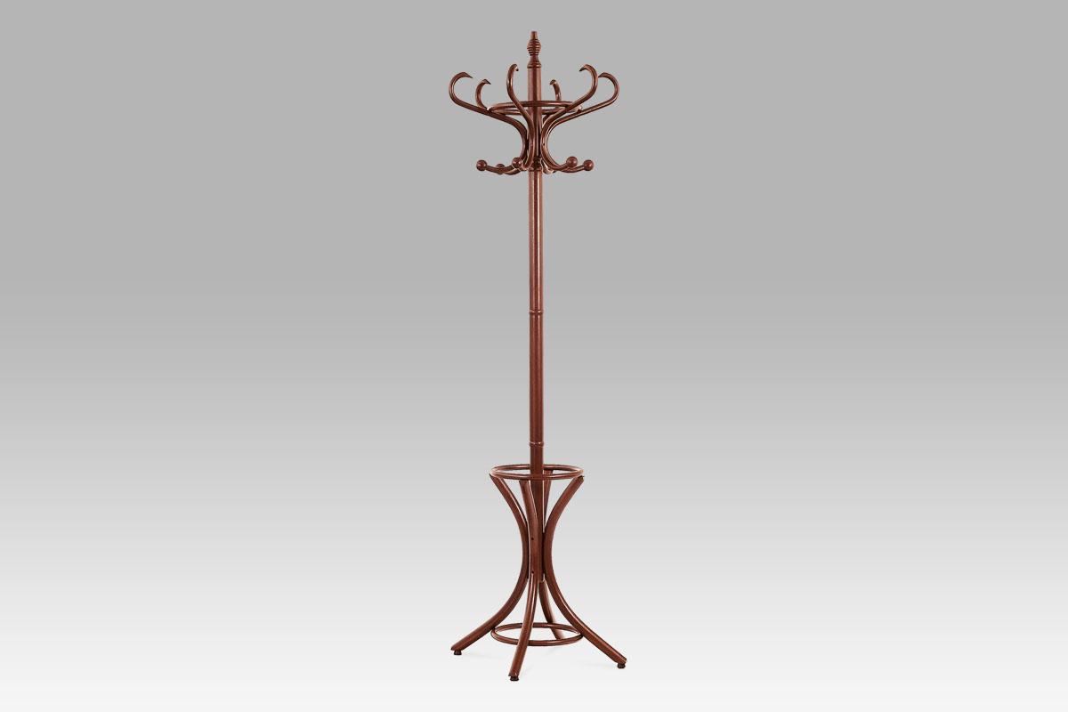 Stojanový věšák dřevo 186 cm Barva: tmavě hnědá