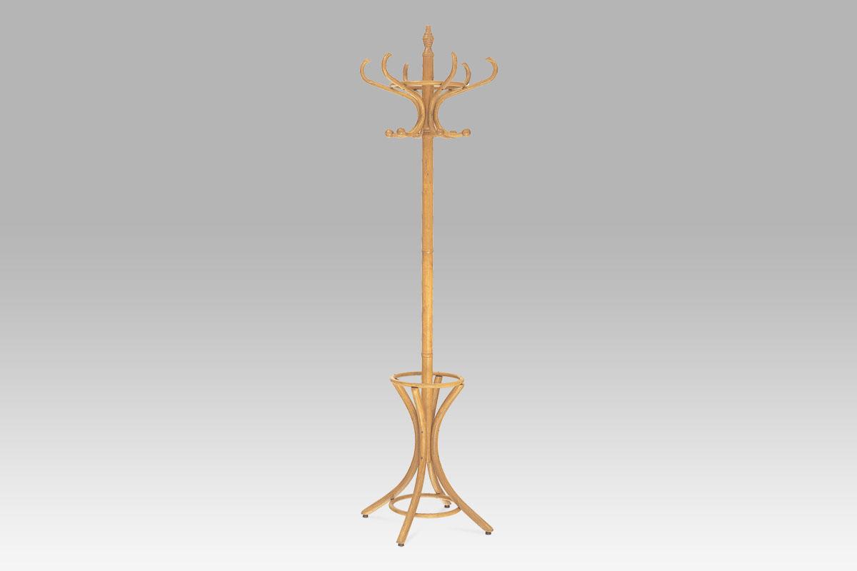 Stojanový věšák dřevo 186 cm Barva: dub