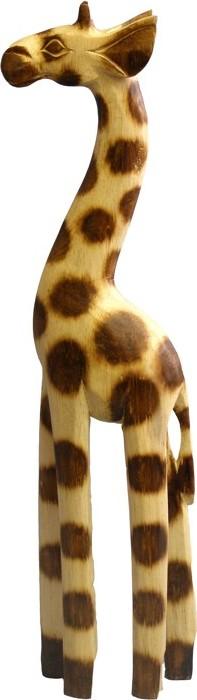 Dřevěná žirafa 40cm