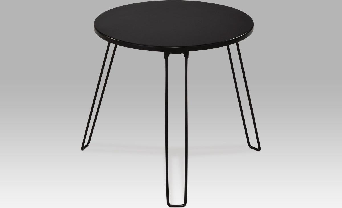 Odkládací stolek | kovová konstrukce Barva: černá
