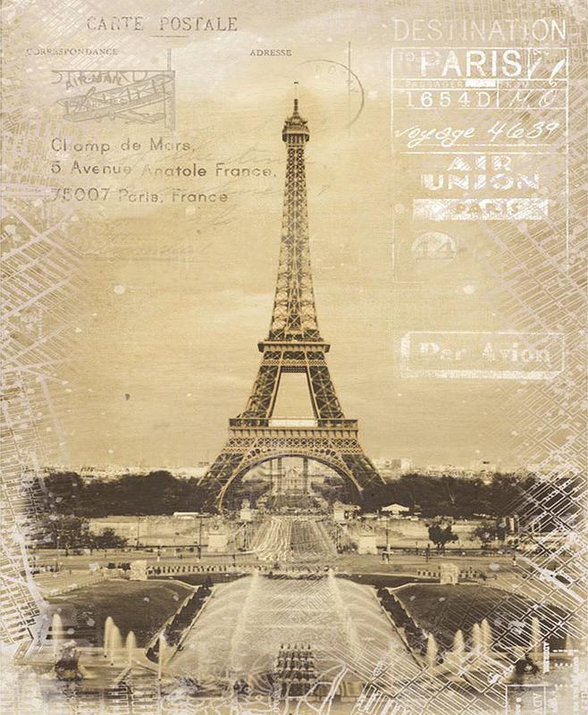 Artium Obraz plátno Paříž