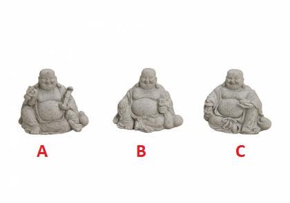 Buddha 9x5x7cm I Provedení: A