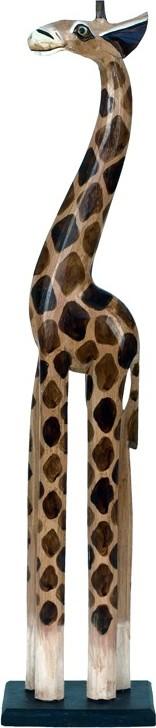 Dřevořezba žirafa 80cm