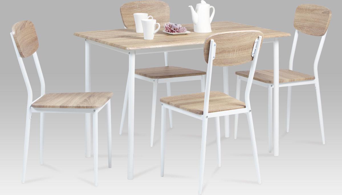 Jídelní set - stůl a židle 4ks - Justin