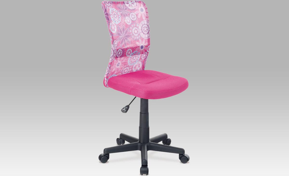 Kancelářská židle dětská Barva: růžová