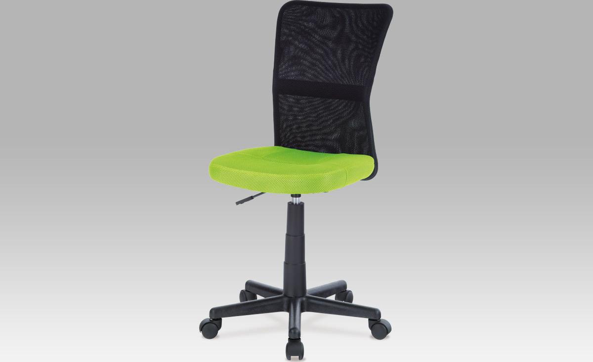 Kancelářská židle dětská Barva: zelená