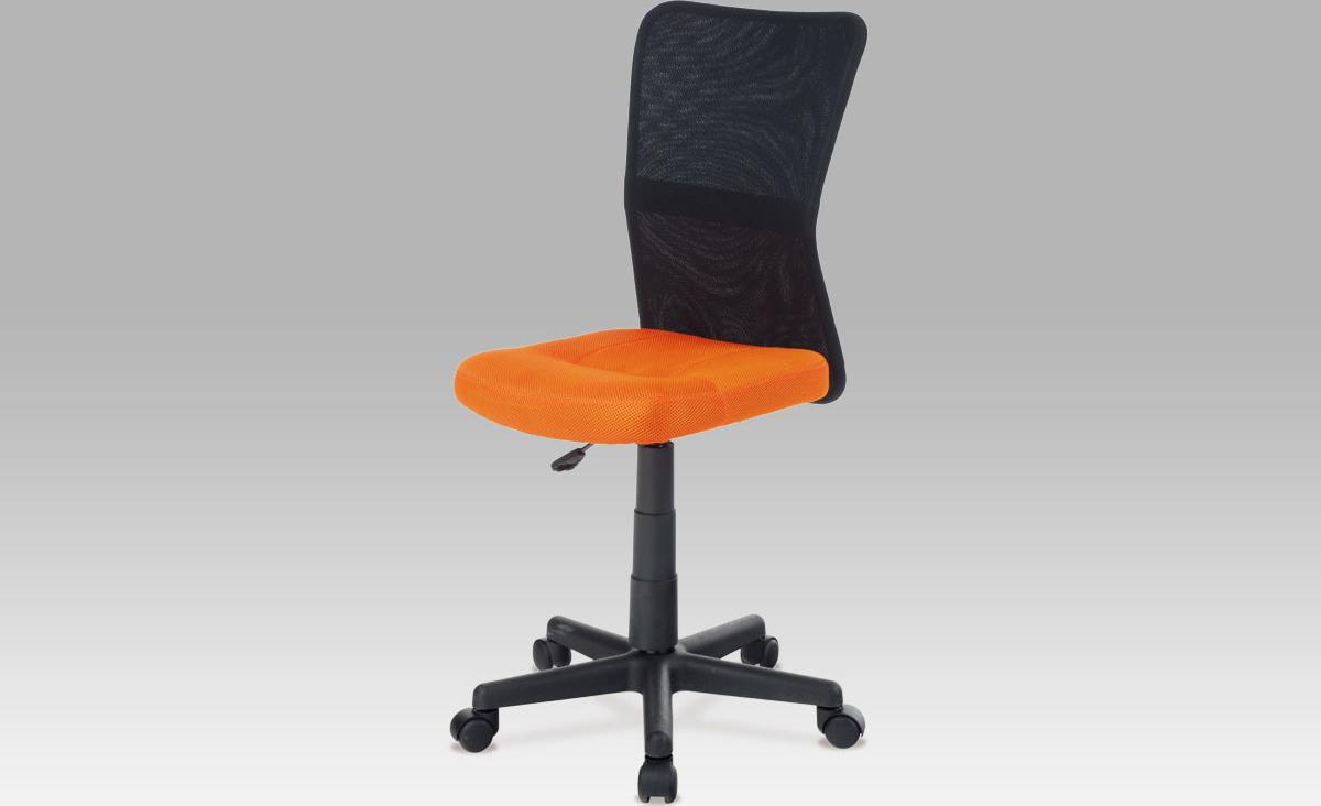 Kancelářská židle dětská Barva: oranžová