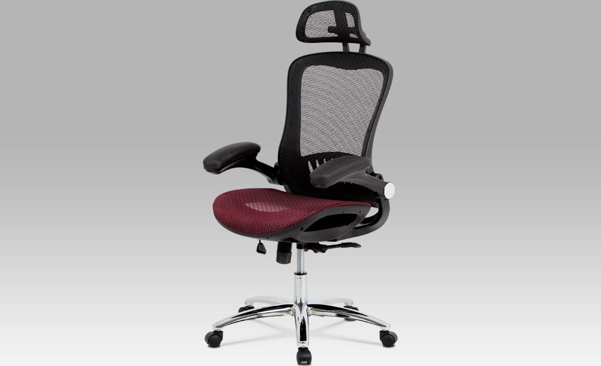 Kancelářská židle   synchronní mechanismus Barva: červená