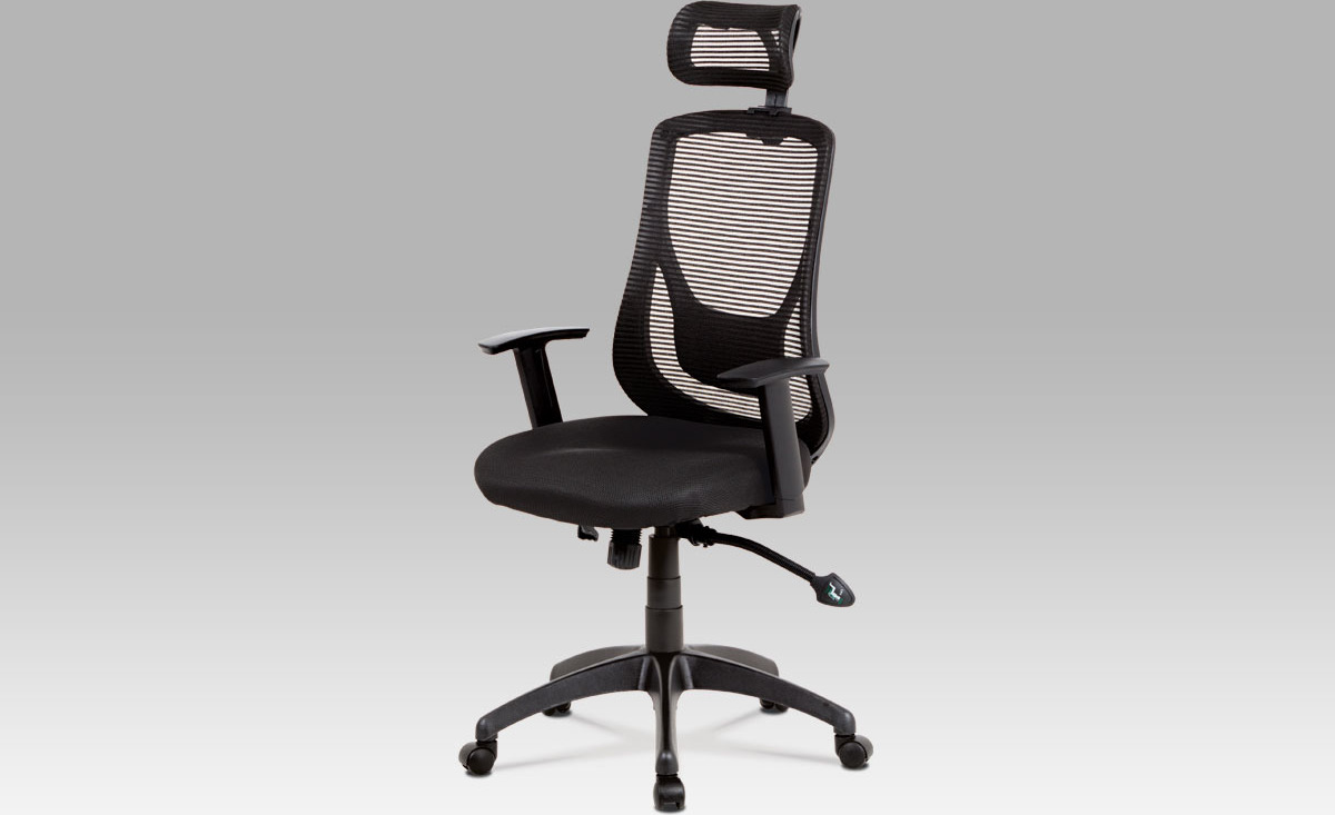 Kancelářská židle   synchronní mechanismus   látka Mesh Barva: černá