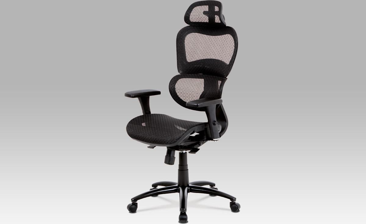 Kancelářská židle   synchronní mechanismus   kovový kříž Barva: černá