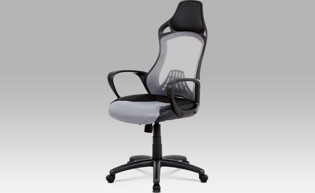 Kancelářská židle | houpací mechanika Barva: šedá