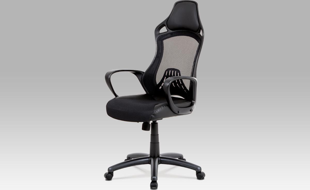 Kancelářská židle | houpací mechanika Barva: černá