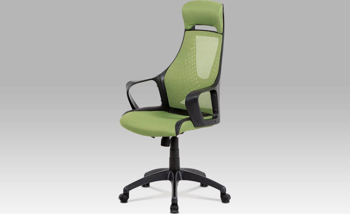 Kancelářská židle   houpací mechanika   látka Mesh Barva: zelená