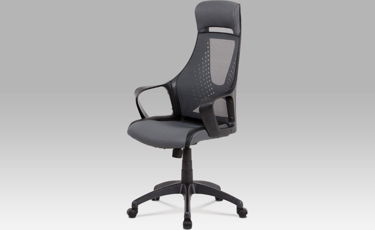 Kancelářská židle   houpací mechanika   látka Mesh Barva: šedá