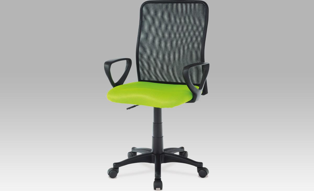 Kancelářská židle | látka MESH | plynový píst Barva: zelená