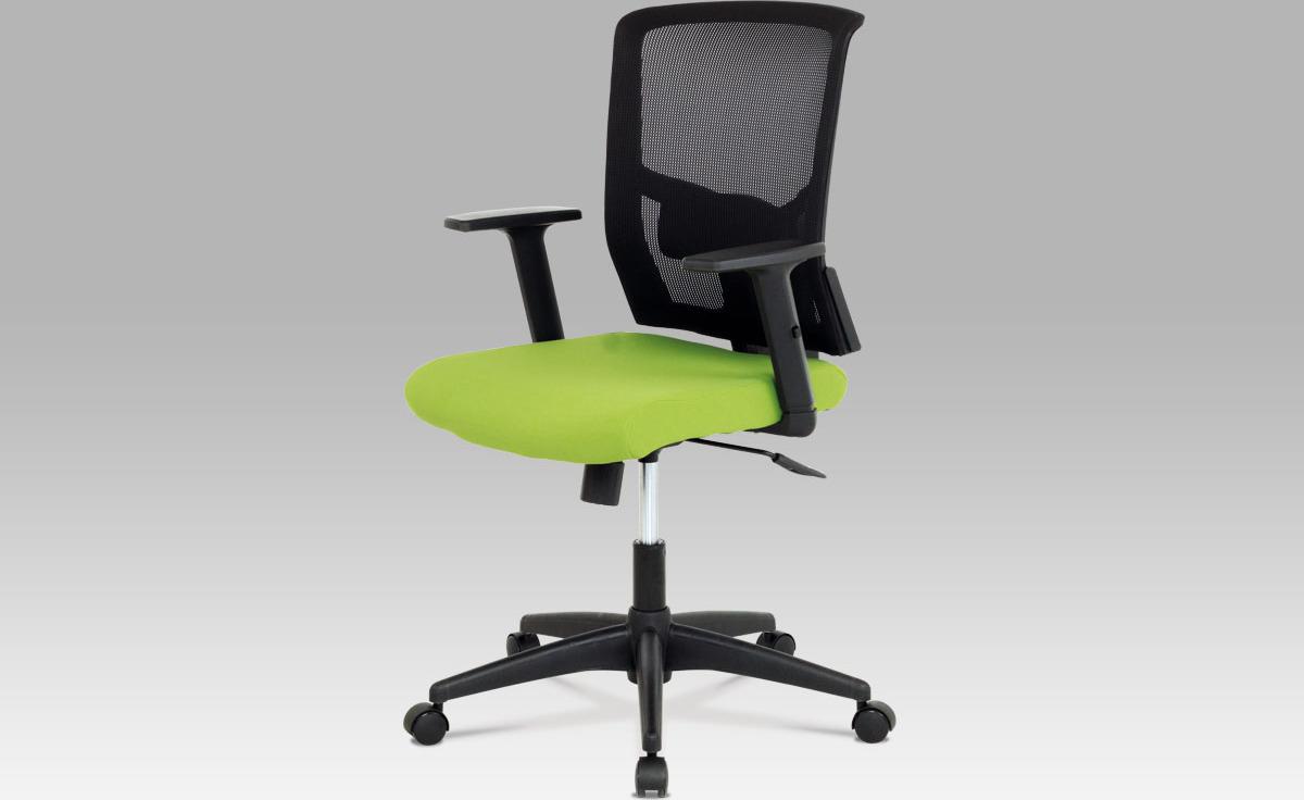 Kancelářská židle   látka   houpací mechanismus Barva: zelená