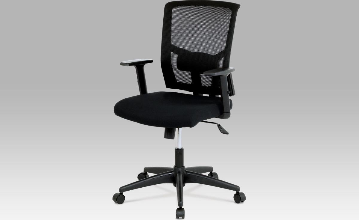 Kancelářská židle   látka   houpací mechanismus Barva: černá