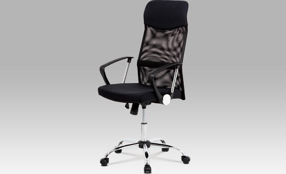 Kancelářská židle   houpací mechanika   kovový kříž Barva: černá