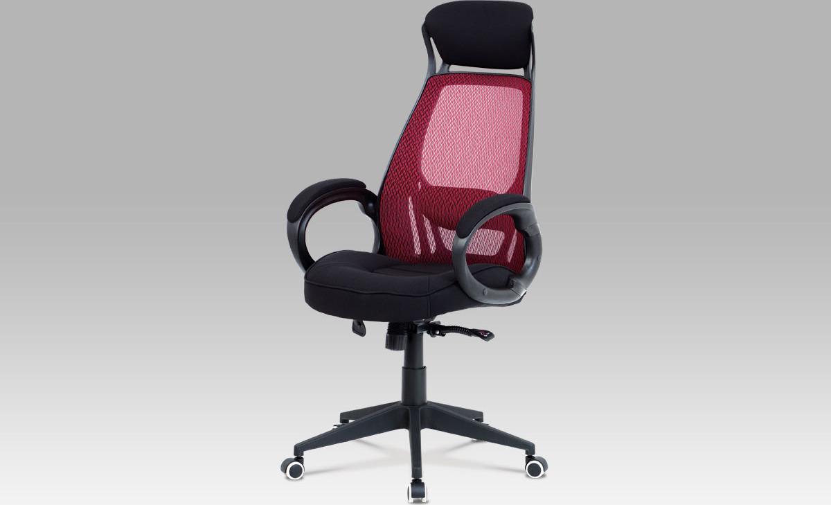 Kancelářská židle   synchronní mechanismus   MESH Barva: červená