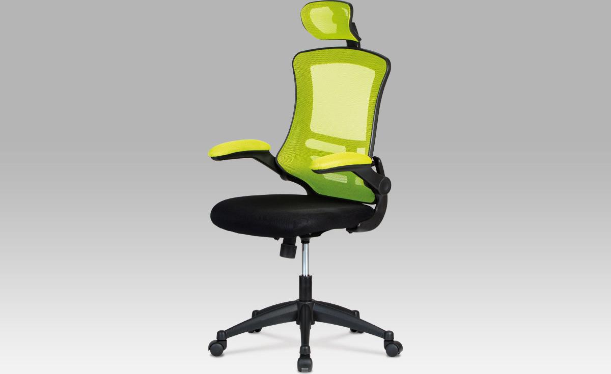 Kancelářská židle   podhlavník Barva: zelená