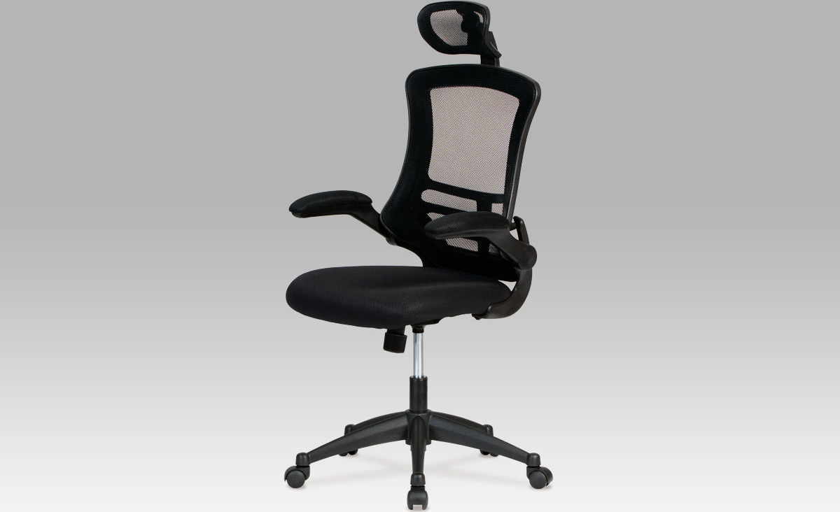 Kancelářská židle   podhlavník Barva: černá