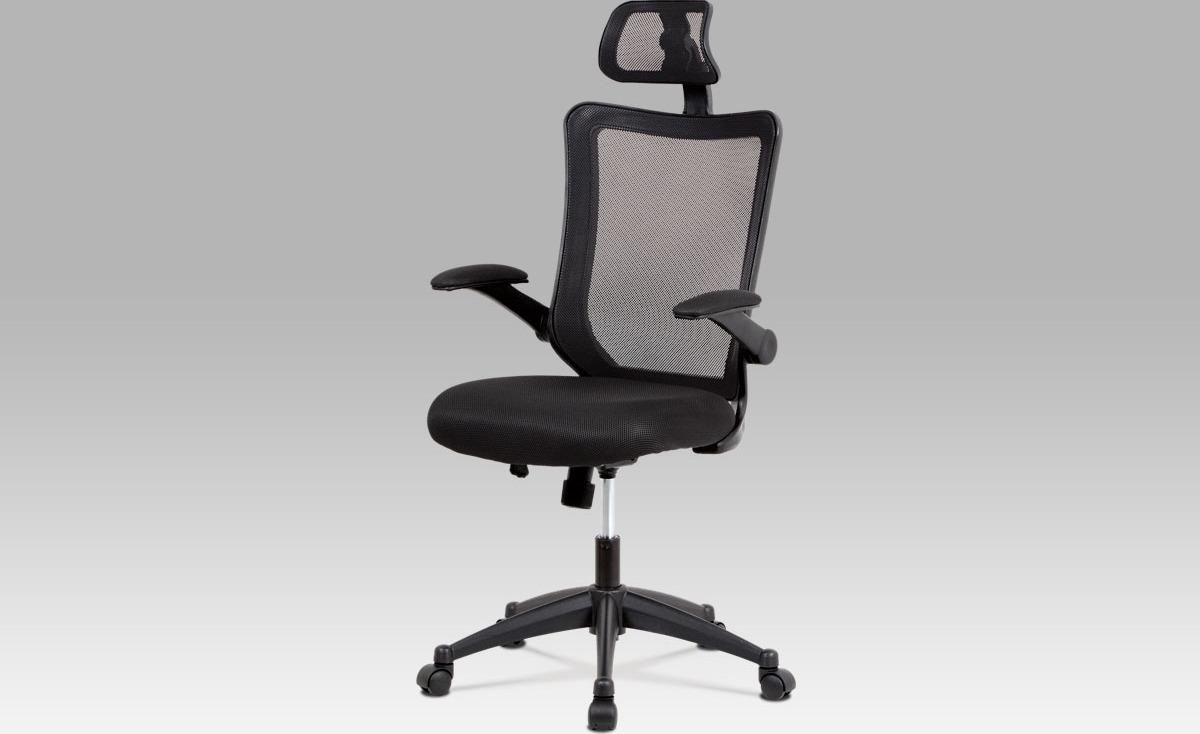 Kancelářská židle   plastový kříž   houpací mechanismus   opěrka hlavy