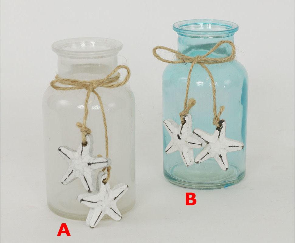 Váza skleněná dekorace Provedení: A