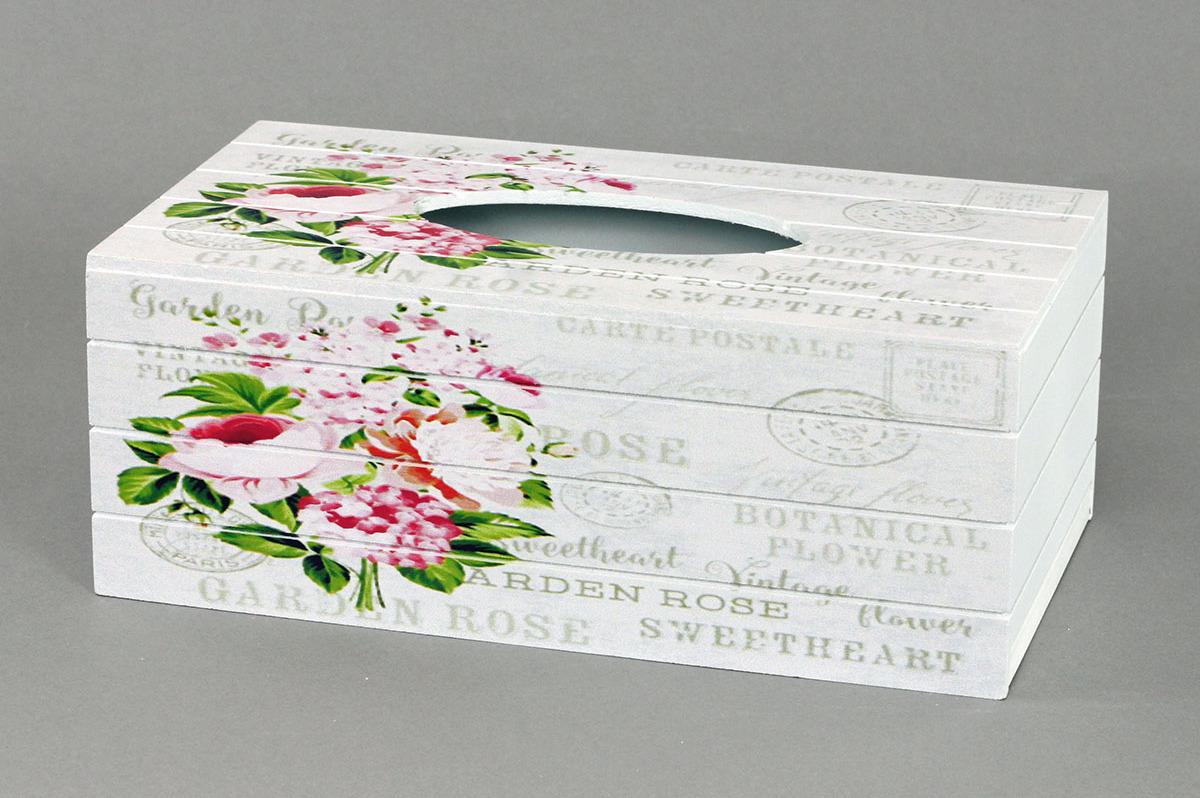 Autronic Krabička na kapesníky Růže AUKP8750