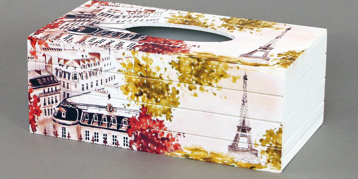 Krabička na kapesníky MDF France