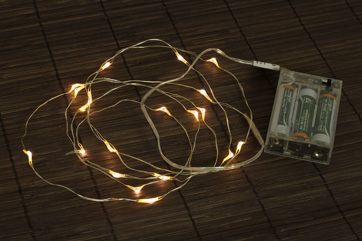 Artium Řetěz s LED světýlky 2m čirý