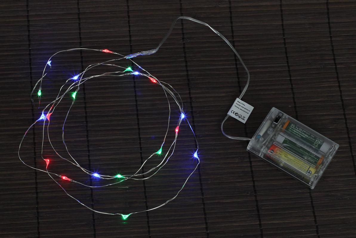 Artium Řetěz s LED světýlky 2m barevný