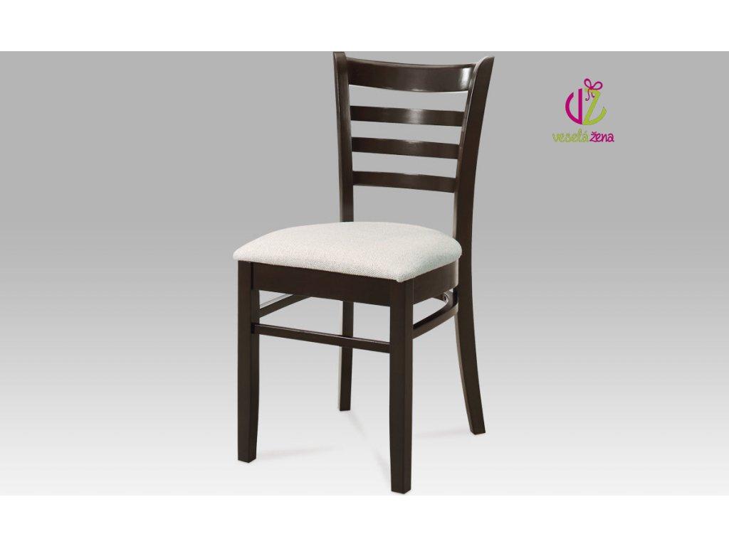 Jídelní židle dřevěná 44x43x85x46cm Barva: ořech