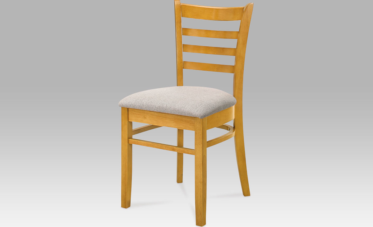 Jídelní židle dřevěná 44x43x85x46cm Barva: dub