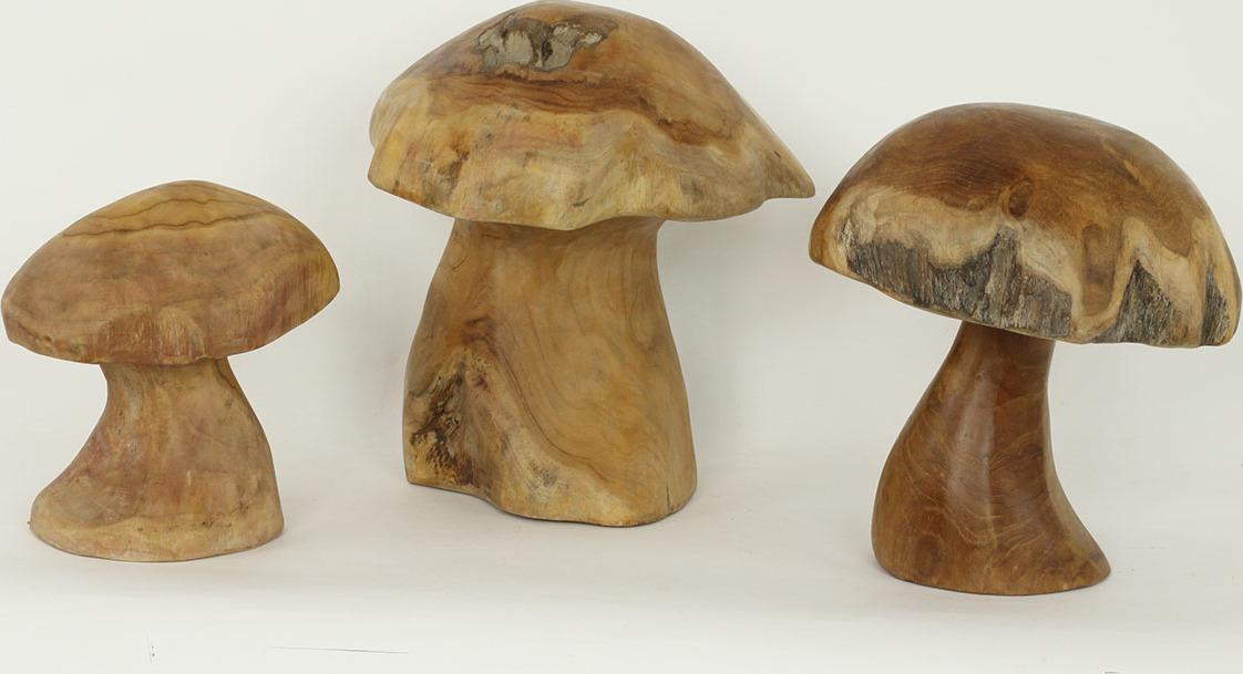 Teakové houby sada 3kusů