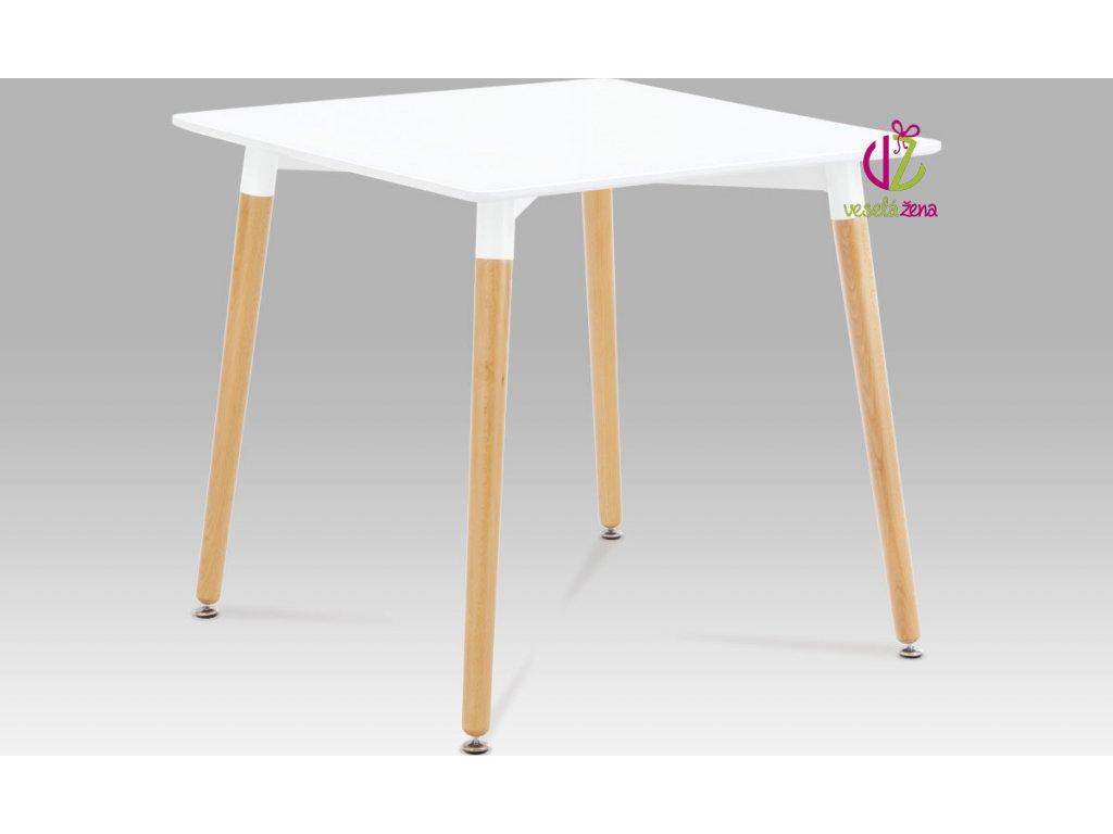Jídelní stůl malý 80x80cm Barva: buk